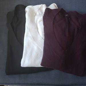 Express Vneck sweaters L/XL